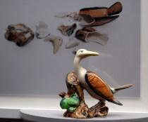 Liliana Porter. Reconstruction (Bird), 2007 Instalación. Cortesía Junta de Extremadura