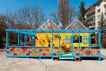 Sol Calero, El buen vecino. Vista de la instalación, SALTS, Birsfelden 2015. Cortesía de la artista, SALTS, Birsfelden y Laura Bartlett Gallery, London. Foto: Gunnar Meier
