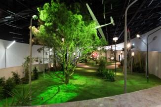 Vista de la instalación. Foto: Bruno Lopes
