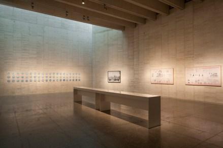 Adriana Bustos, Prosa del observatorio. Vista de la exposición en MUSAC, Museo de Arte Contemporáneo de Castilla y León, Junio - noviembre de 2017.
