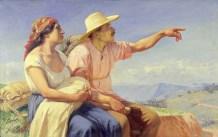 Francisco Antonio Cano, Horizontes, (Horizons), 1913, Huile sur toile, 95 x 150 cm – Collection Museo de Antoquia, Medellín, Colombie