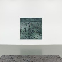 Irene Kopelman, 77 Colors of a Volcanic Landscape C (2016) and Puzzle Piece (2012) part of Irene Kopelman, a solo exhibition, Witte de With Center for Contemporary Art 2018, photographer Kristien Daem.