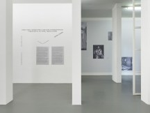 Exhibition overview A group exhibition with work by Dora García, Sharon Hayes, Emily Jacir, Mahmoud Khaled, Carlos Motta, Wu Tsang, and Akram Zaatari, as well as a letter by Quinn Latimer, Witte de With Center for Contemporary Art, 2018, photo by Kristien Daem.