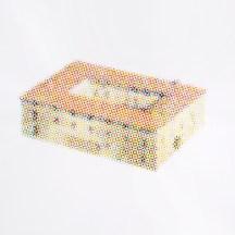Jorge Macchi, Suspension points 03 (2018). Acuarela sobre papel. Díptico: 140 x 140 cm cada uno. Cortesía GALLERIA CONTINUA, San Gimignano / Beijing / Les Moulins / Habana. Foto: Ela Bialkowska, OKNO Studio