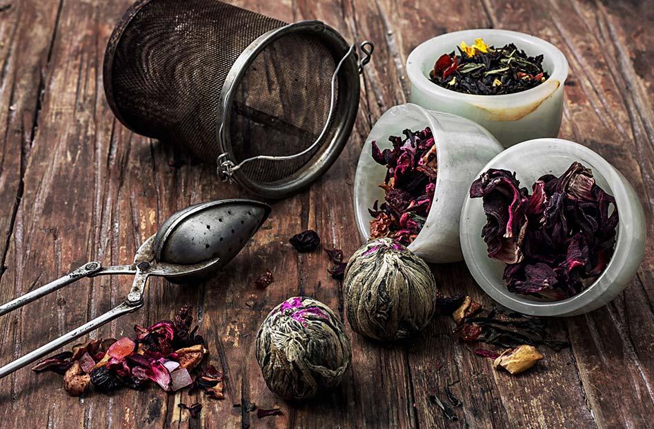 Mezclas de tés para una tarde lluviosa