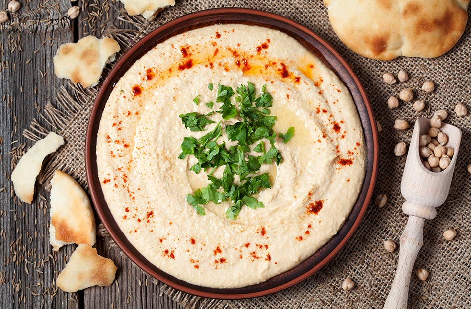 Hummus, o como los garbanzos fueron a la guerra