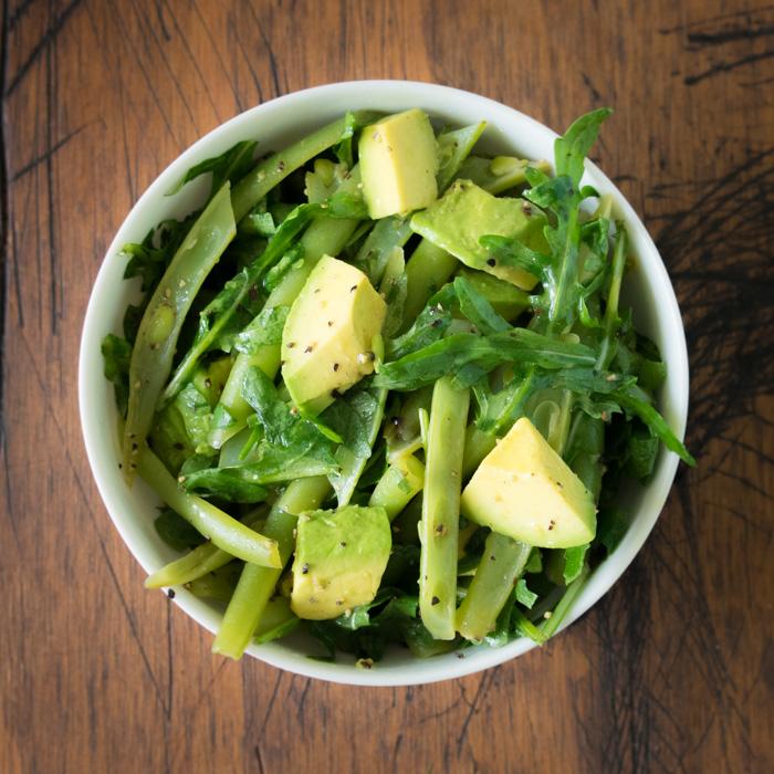 receta de ensalada verde sencilla