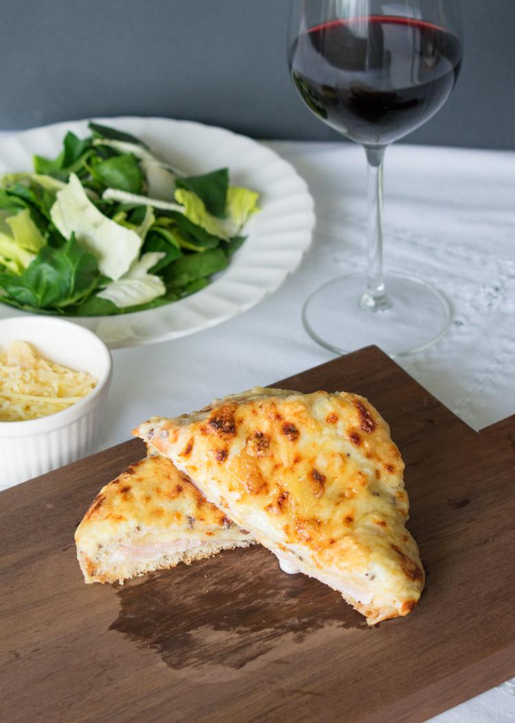 receta de croque monsieur sandwich frances