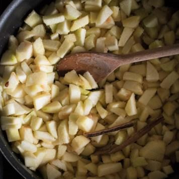 receta de pay de manzana clasico