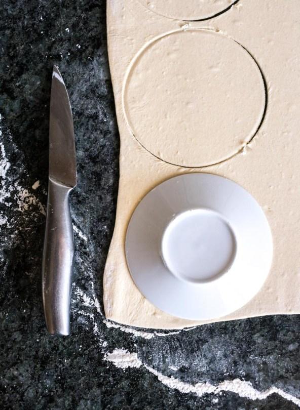 Receta de empanadas en revista Maria Orsini