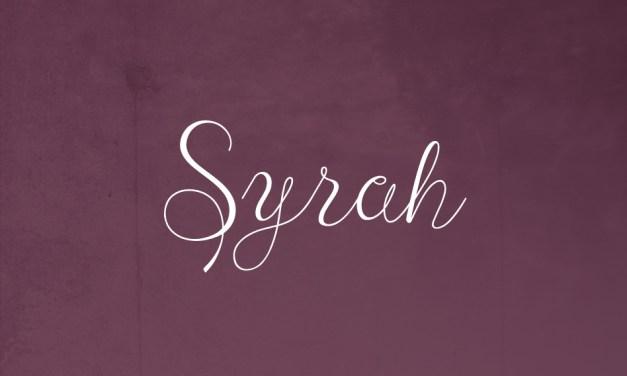 Conoce esta uva: Syrah