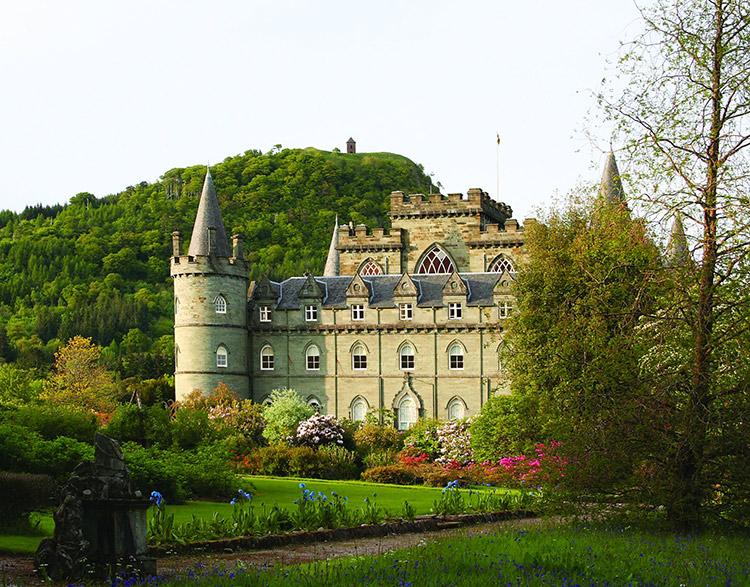 Locaciones de Downton Abbey que puedes visitar: Inveraray Castle