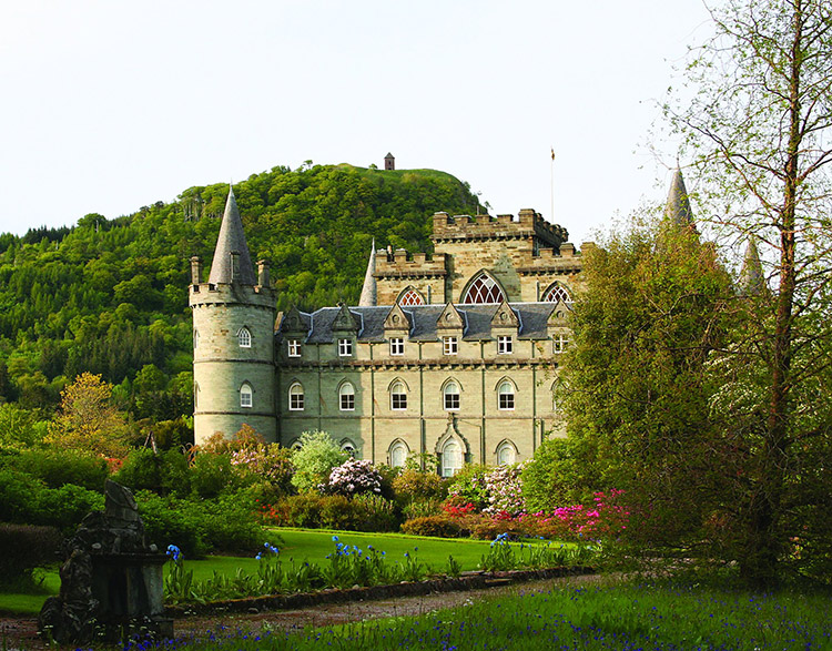Locaciones de Downton Abbey que puedes visitar: Inveraray Castle