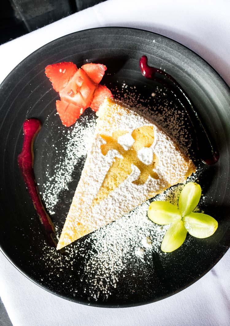 La Mallorquina, restaurante de comida española en la ciudad de México - Tarta santiago