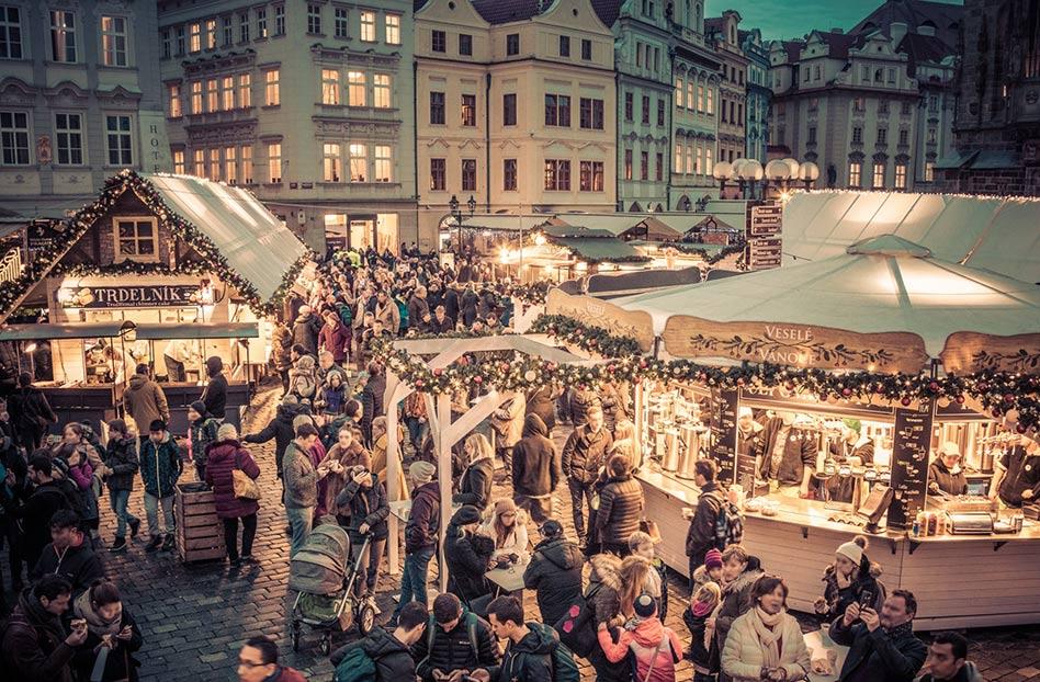 Los mercados navideños más bonitos del mundo, praga