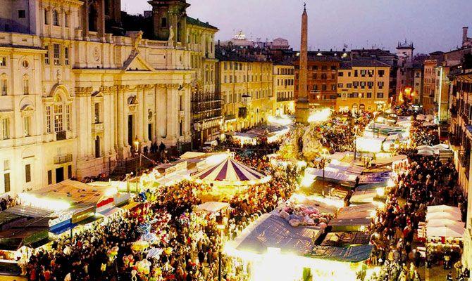 Los mercados navideños más bonitos del mundo, Roma