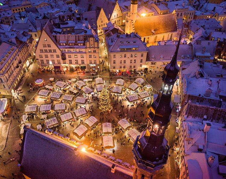 Los mercados navideños más bonitos del mundo, Tallin, Estonia