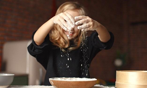 Ideas para cocinar con niños en casa