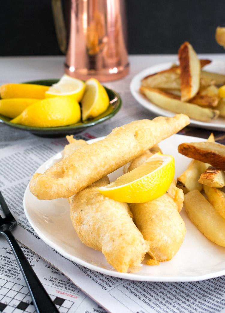Como hacer fish and chips en casa, receta fácil