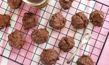 Galletas saludables de avena y chocolate