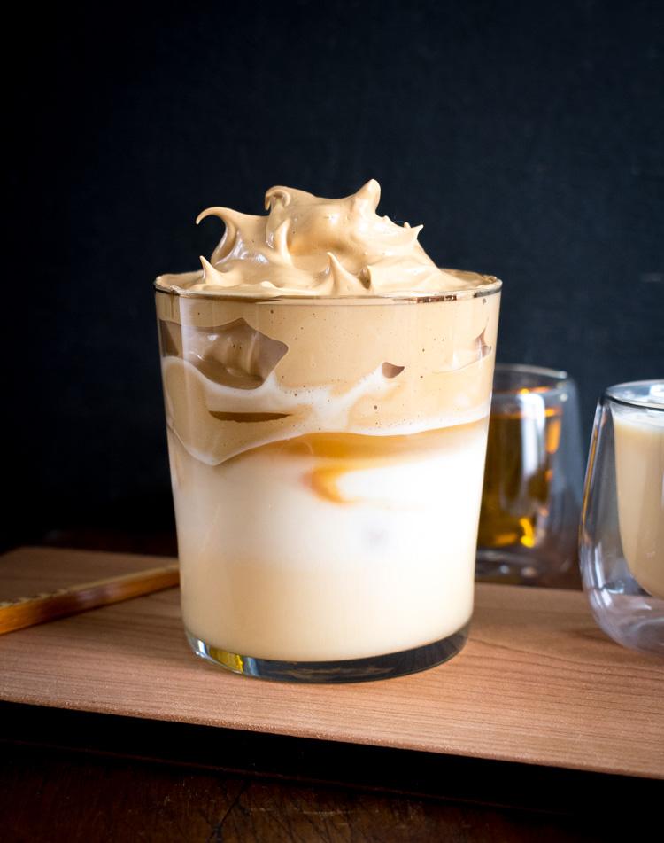 Cafe dalgona carajillo receta casera