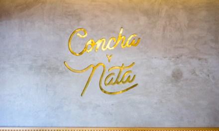 Concha y nata – Pan dulce mexicano