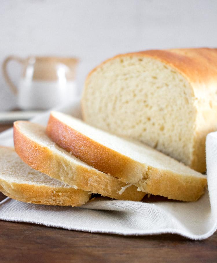 receta de pan de leche casero