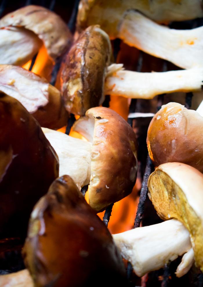 hongos a la mantequilla