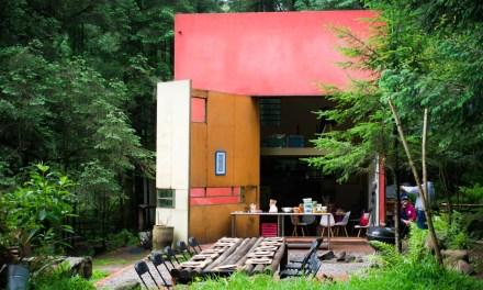 Cubo – Restaurante en el bosque