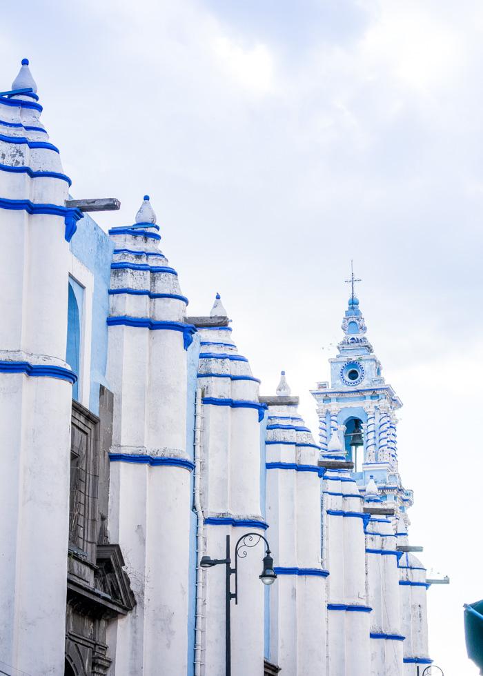 Escapada de fin de semana en Puebla, templo de la inmaculada concepción