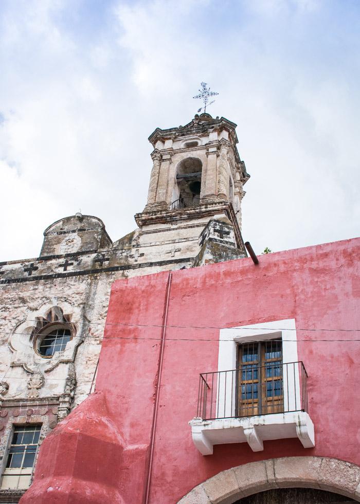 Ex convento de san francisco en atlixco, puebla