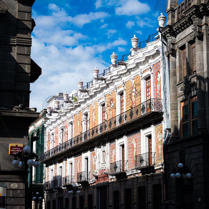 Casa de los Muñecos en el centro histórico de Puebla