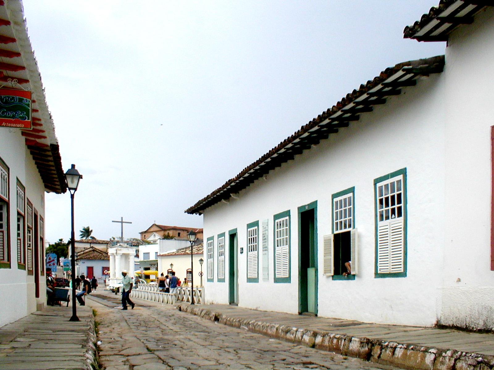 Casa de Cora Coralina na cidade de Goiás Velho (século XVIII).