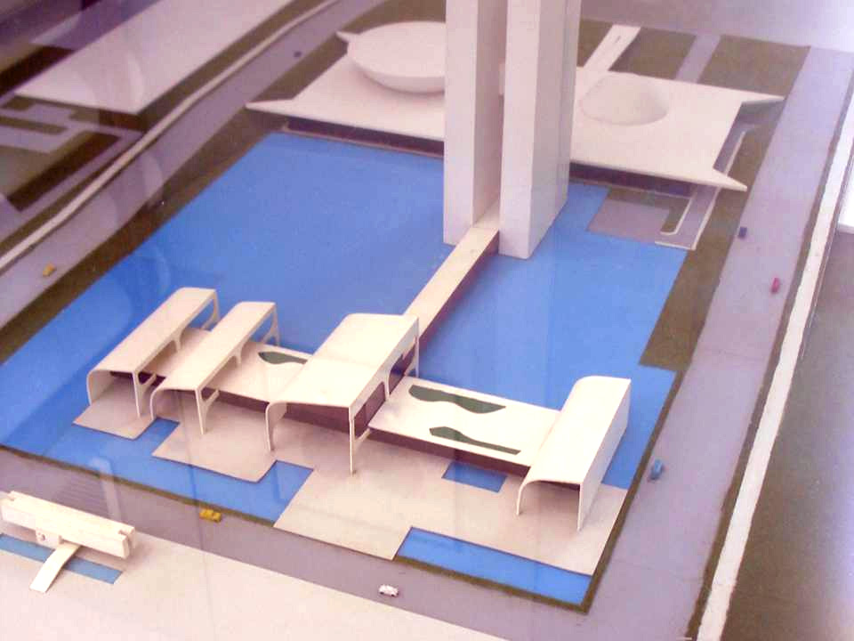 Projeto para anexo do Congresso (Oscar Niemeyer, 1995)