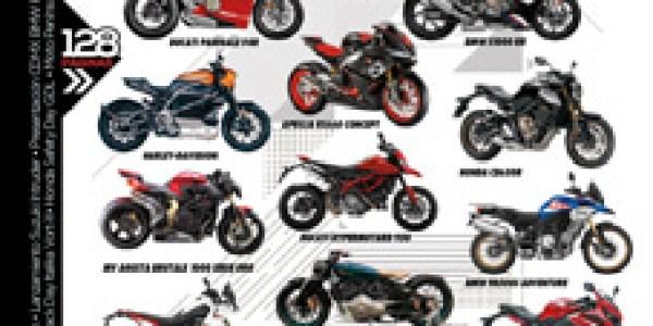 REVISTA MOTO #185: Desde Italia para el mundo te presentamos los modelos 2019 de marcas icono del motociclismo