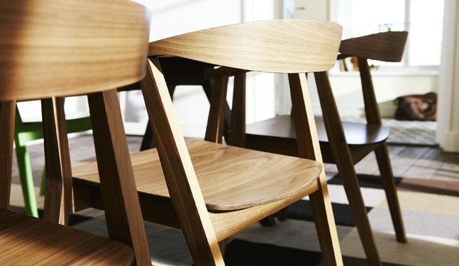 Nueva colecci n stockholm de ikea revista muebles - Silla stockholm ikea ...