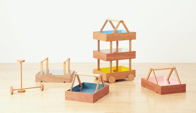 Muebles para que los ni os organicen sus juguetes for Muebles originales para ninos
