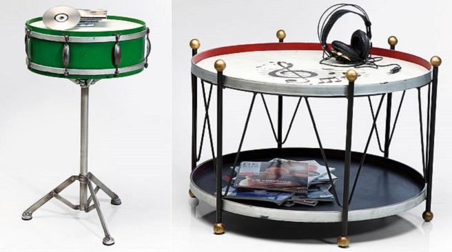 Muebles con forma de instrumentos musicales revista - Replicas muebles diseno ...