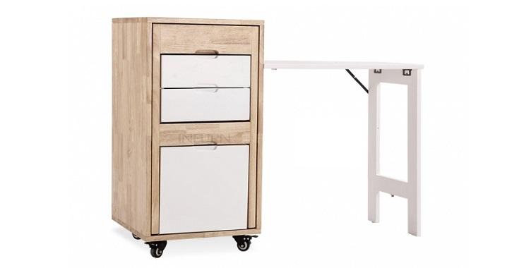 Oficina multifuncional revista muebles mobiliario de for Muebles multifuncionales ikea