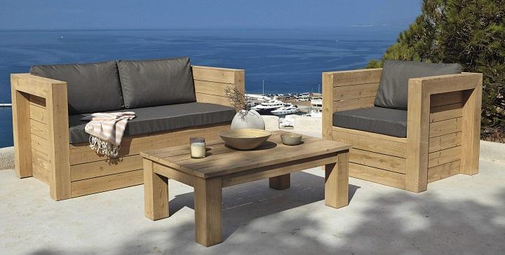 Muebles para la terraza  Revista Muebles  Mobiliario de diseo