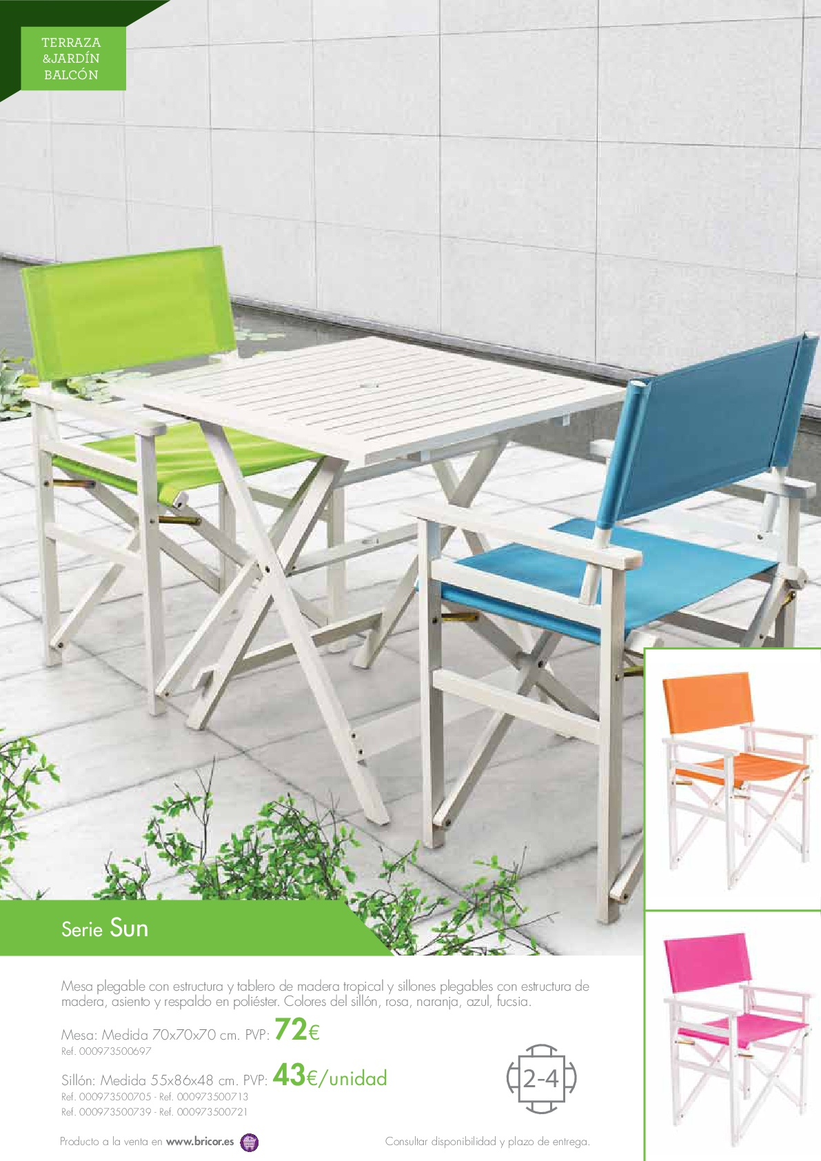 Bricor Muebles Bricor Muebles Jardin 201616 Revista Muebles