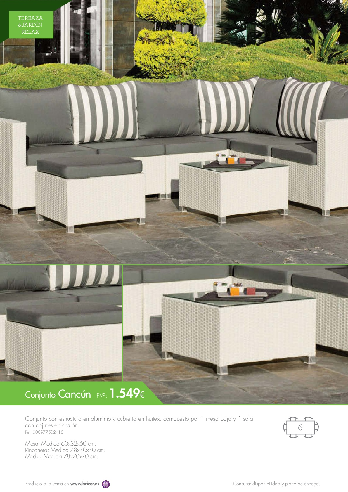 Bricor Muebles Bricor Muebles Jardin 201666 Revista Muebles