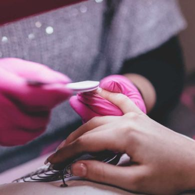 O sonho de ser nail designer por Kamylla Mendes