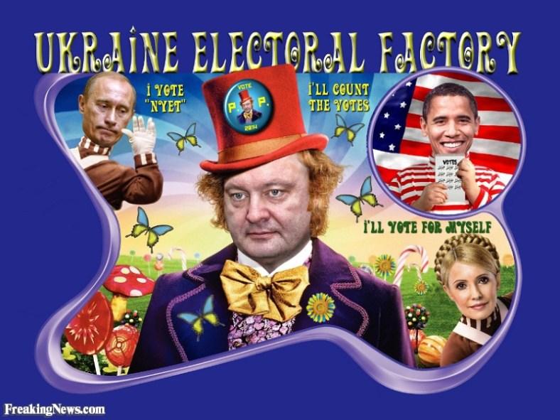 Fábrica electoral Ucraniana