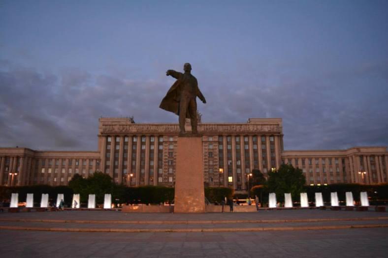 10 Plaza Moscu en San Petersburgo