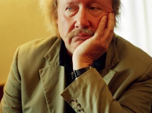 El-pensador-Peter-Sloterdijk--fotografiado-por-Peter-Rigaud--en-2004