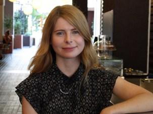 Emma Cline, escritora estadounidense. Foto: Gentileza Editorial Anagrama