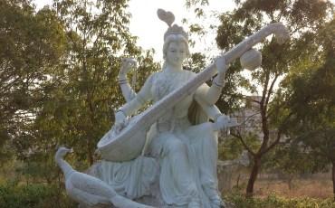 1 Saraswati em Karnataka, Índia.Creative Commons