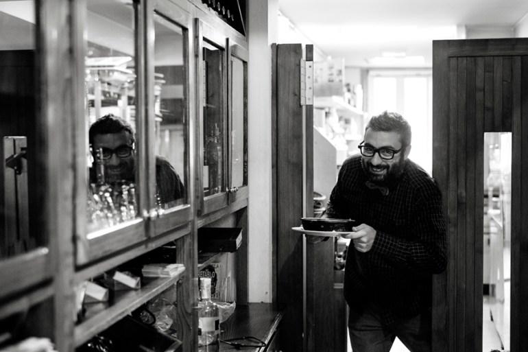 @JuanEAT_o facendo das súas no San Jaime. Foto: Iván Barreiro
