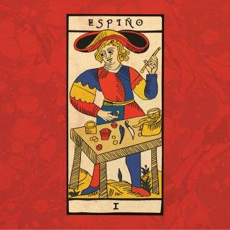 Portada do primeiro disco de Espiño.